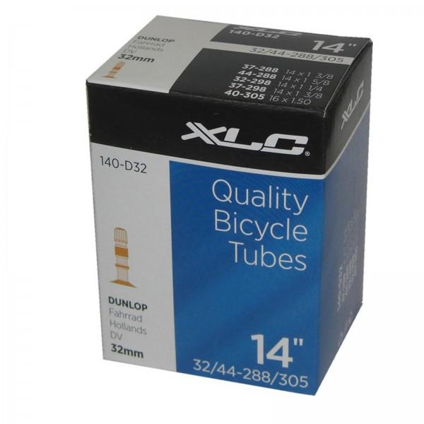 XLC Schlauch 14 Zoll 14 x1 3/8 37/44-288/305 DV 32mm
