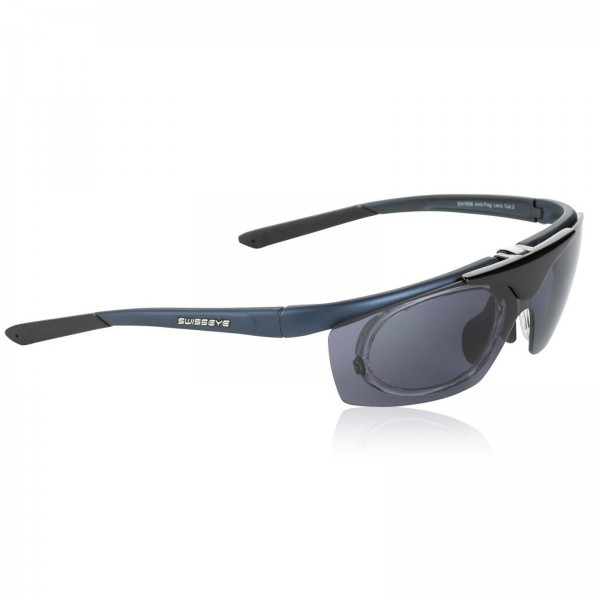 Swisseye Sonnenbrille View Rahmen dunkelgrau/schwarz / Polycarbonatscheiben m. Wechselscheiben