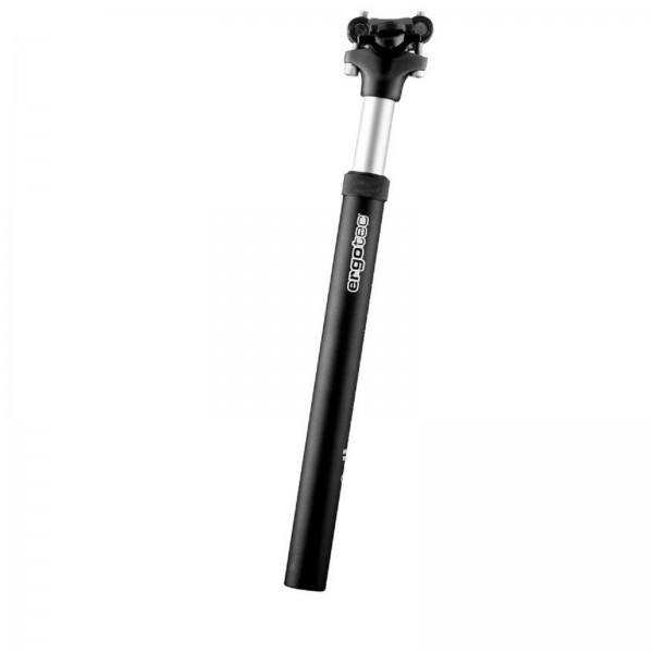 ERGOTEC Sattelstütze gefedert Alu SP-5.0 350/27,2mm schwarz