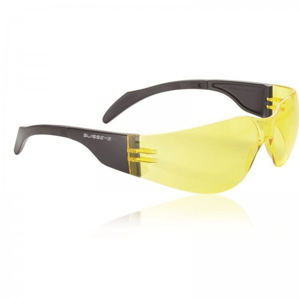 Swisseye Sonnenbrille Outbreak S Rahmen schwarz / Polycarbonatscheiben gelb