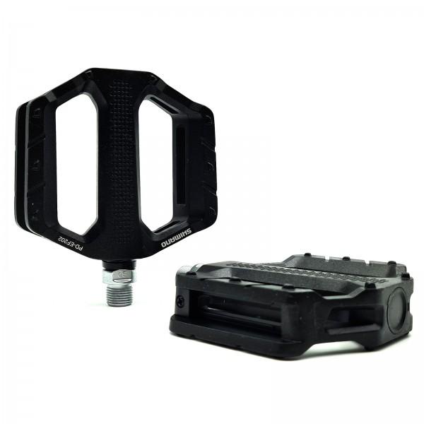 Shimano Plattform Pedale PD-EF202 Alu schwarz