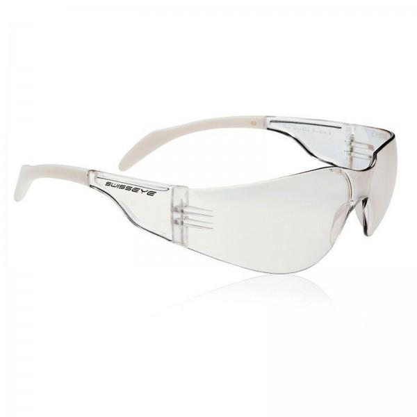 Swisseye Sonnenbrille Outbreak S Rahmen klar-weiß / Polycarbonatscheiben klar FM