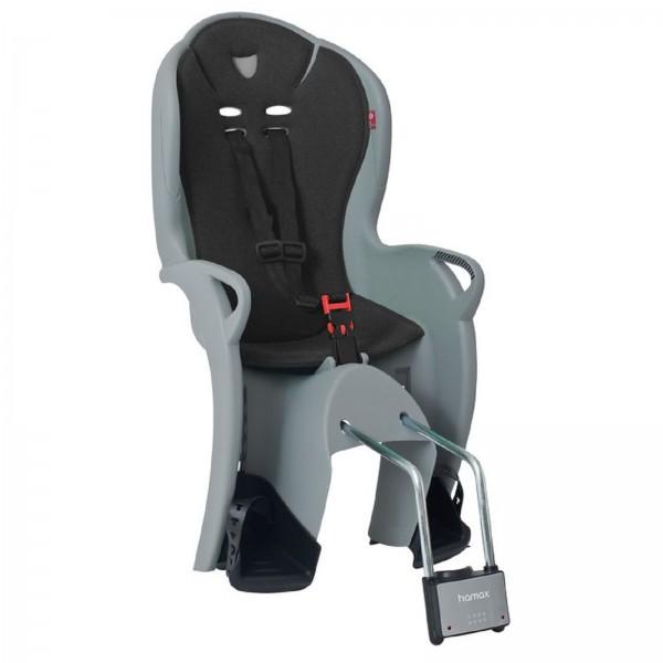 Hamax Kindersitz Kiss grau/schwarz Rahmenrohrbefestigung