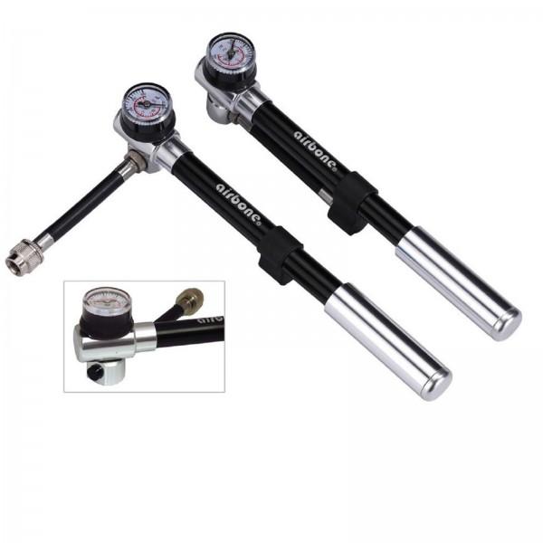 Airbone Federgabel Pumpe ZT-801 205mm schwarz 300psi/20 bar
