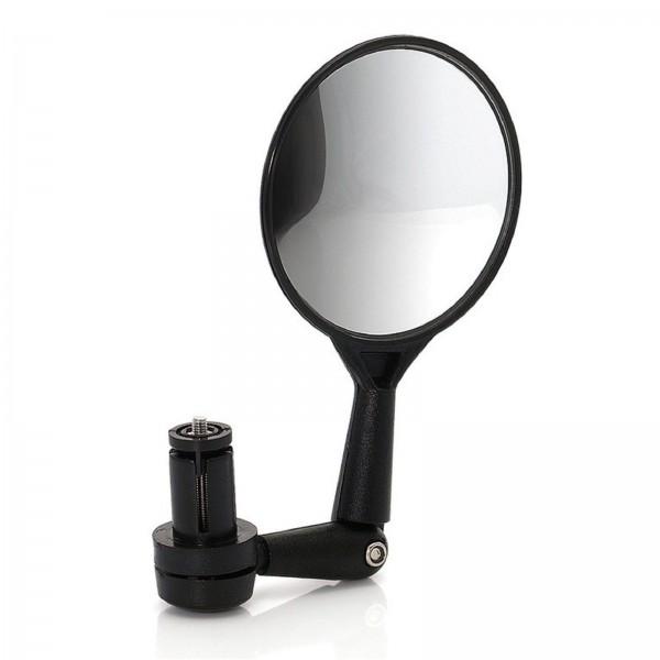 XLC Fahrradspiegel MR-K02 rund Ø80mm Innenklemmung schwarz