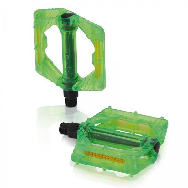 XLC BMX/Freeride-Pedale PD-M16 grün transp.