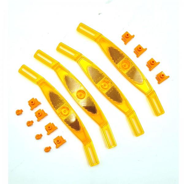 Speichenstrahler Satz Kunststoff 4 Stück MERIDA