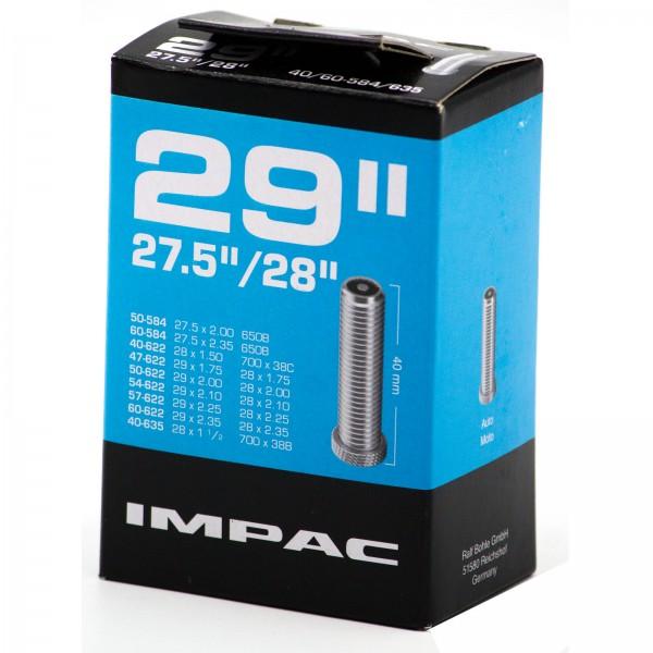 Impac Schlauch 27,5 - 29 Zoll 40/60-584/635 AV 40mm