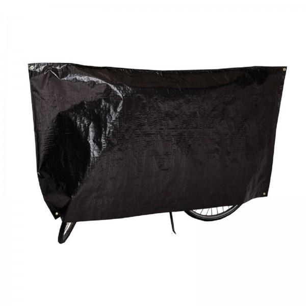 VK Fahrrad-Garage/Schutzhülle 110x210cm gewebt schwarz