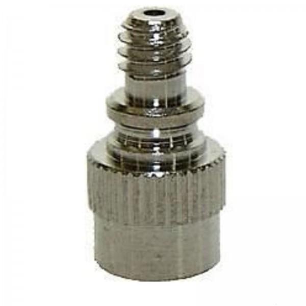 Red.Nippel Autoventil/Fahrrad-Pumpe m.Stift