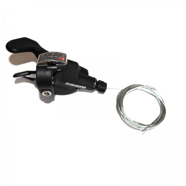 SRAM Trigger-Schalter X4/X3 7-fach rechts schwarz Index 1:1