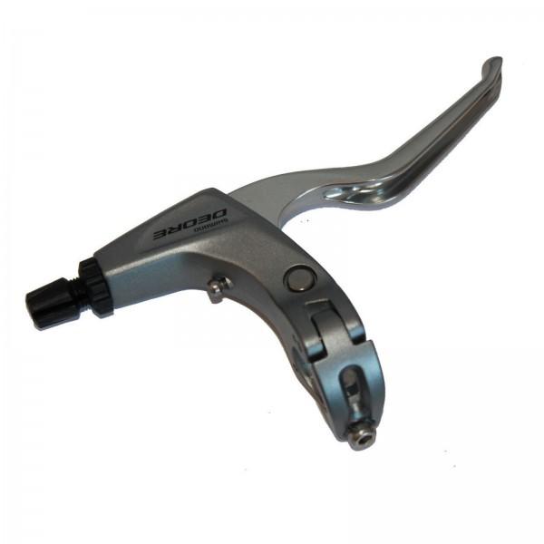 Shimano Bremshebel rechts BL-T611RS 3-Finger silber V-Brake