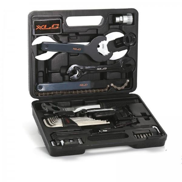 XLC Fahrrad Werkzeugkoffer TO-S61 33-teilig
