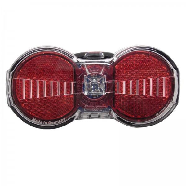 B&M Gep.-Standrücklicht Toplight Flat S Plus 50/80mm