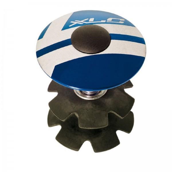 "XLC Steuersatz A-Head Plug 1 1/8"" AP-S01 blau"