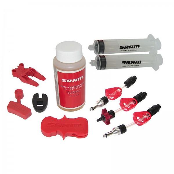 SRAM Scheibenbremsen Entlüftungs-Kit A 1 mit Bremsflüssigkeit
