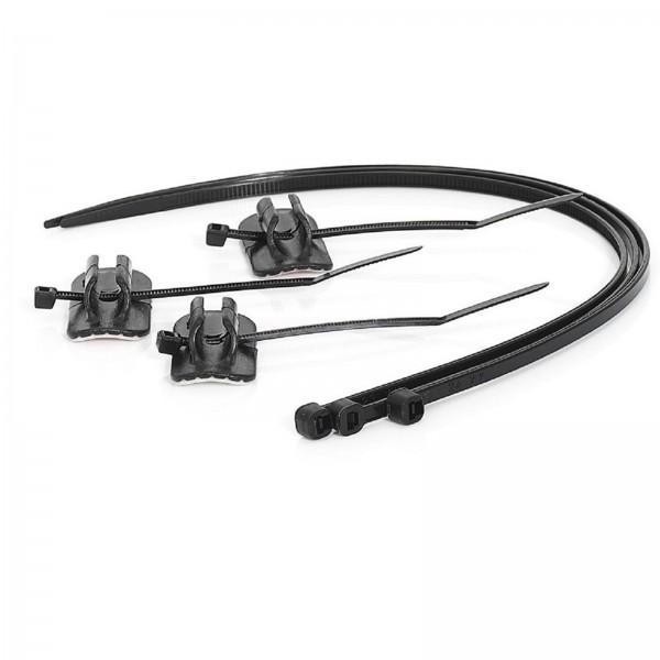 XLC Bremsleitungshalter BR-X11 inkl. Kabelbinder 3er Set
