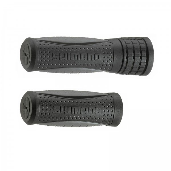 Herrmans Lenkergriffe Shimano 90/120mm schwarz/grau
