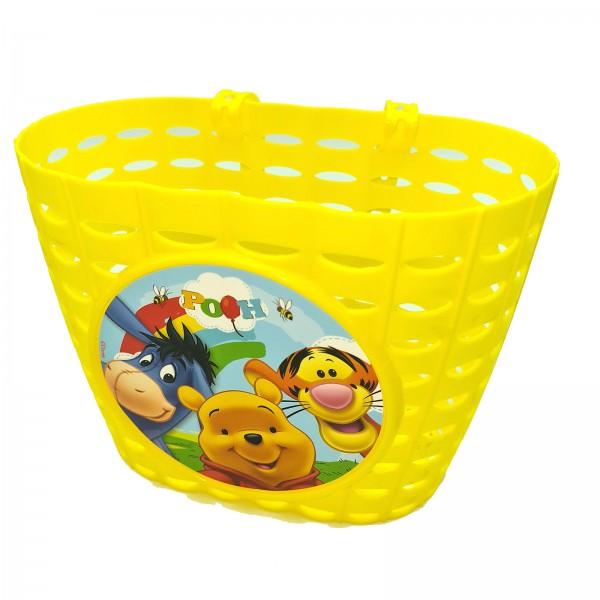 Kinderkorb VR Disney Winnie the Pooh Kunststoff gelb