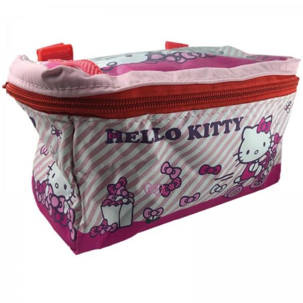 Lenkertasche Hello Kitty pink mit Motiv