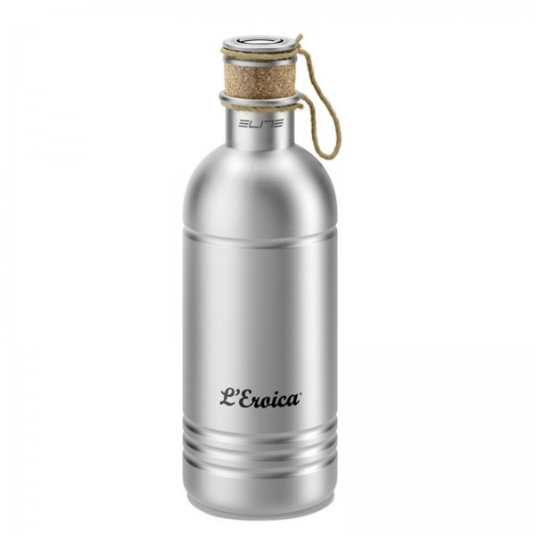 Elite Trinkflasche L'Eroica 600ml Retro Aluminium