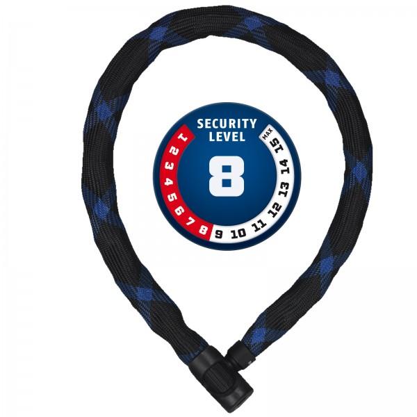 ABUS Kettenschloss IVERA Chain 7210/85 schwarz 7x850mm Level8