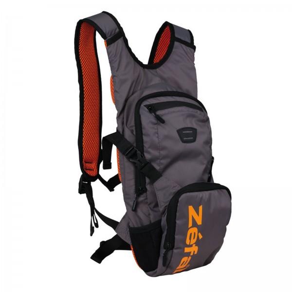 Zefal Trink-Rucksack Z Hydro XC grau/orange mit 2 Liter Trinkblase