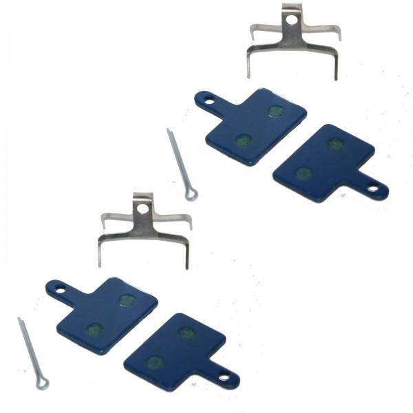 2x Bremsbeläge organisch OEM10 Auriga Comp./Pro/Draco/Orion/SHI M515/525