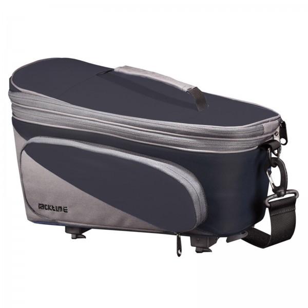Racktime System-Gepäckträgertasche Talis Plus schwarz/grau inkl. Snapit