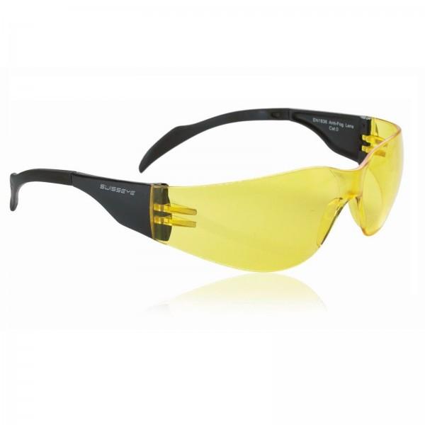 Swisseye Sonnenbrille Outbreak Rahmen schwarz / Polycarbonatscheiben gelb