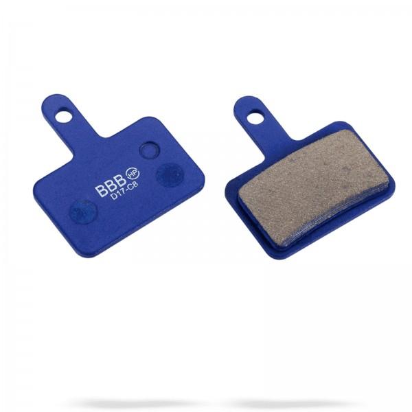 BBB Scheibenbremsbeläge BBS-53 HP organisch blau Tektro/Shimano