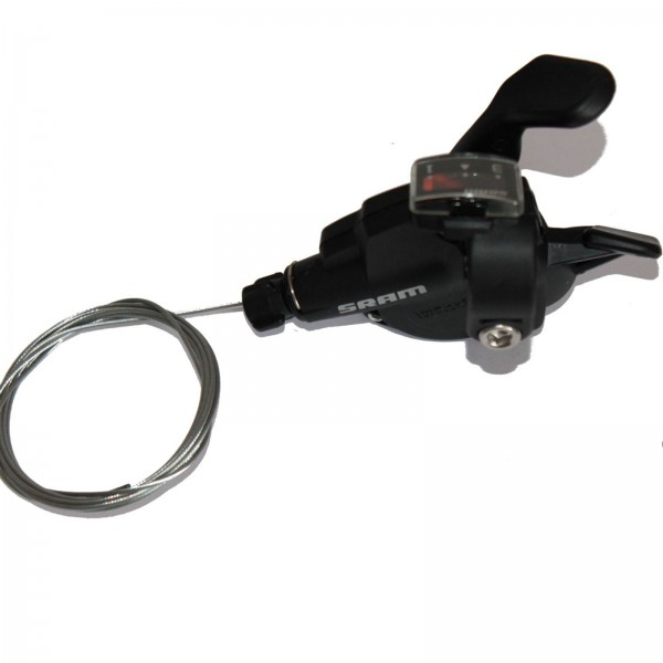 SRAM Trigger-Schalter X4/X3 3-fach links schwarz Index 1:1