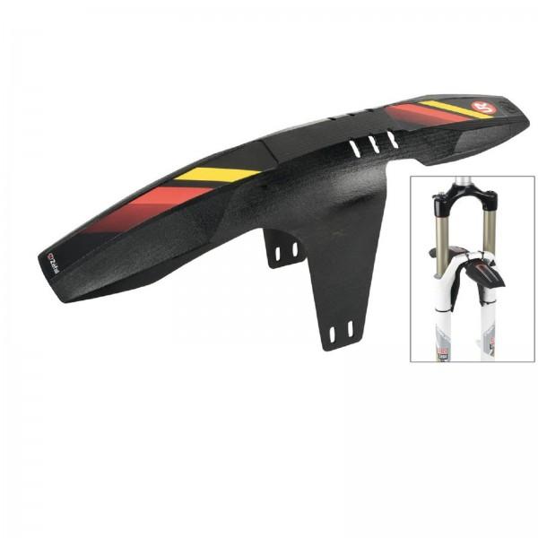 Zefal VR-Steckblech FM20 schwarz mit 3 untersch.Stickern