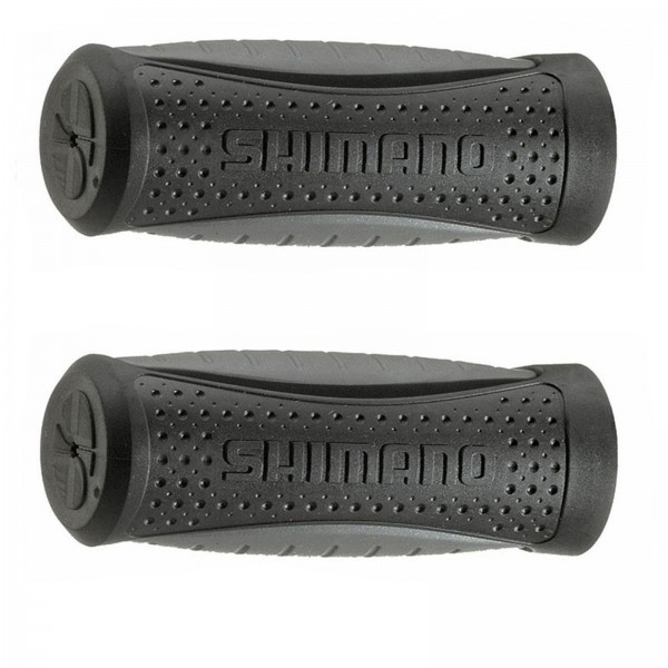 Herrmans Lenkergriffe Shimano 90/90mm schwarz/grau