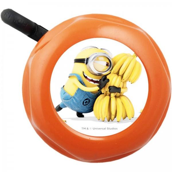 Glocke Minion orange m. Motiv Ø 55mm