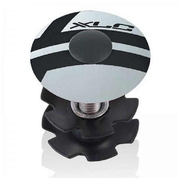 XLC Steuersatz A-Head Plug 1 Zoll AP-S01 Alu silber
