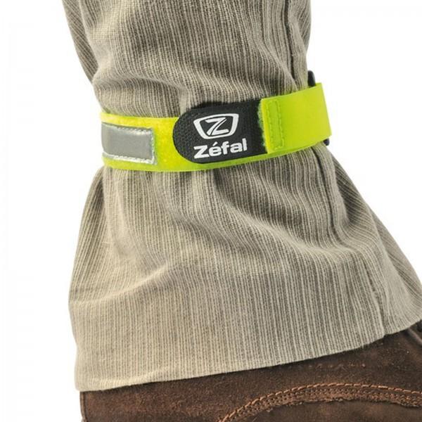 Zefal Hosenband Doowah neon gelb mit Reflexstreifen