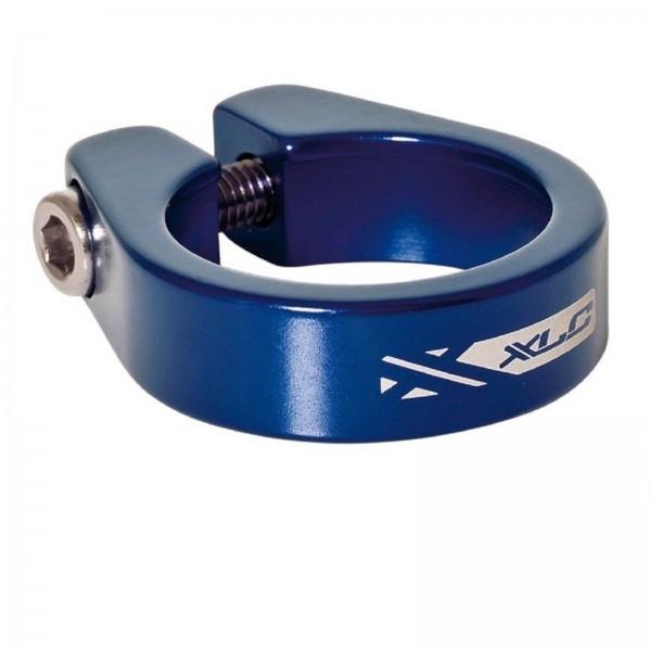 XLC Sattelstützklemme PC-B05 34,9mm blau