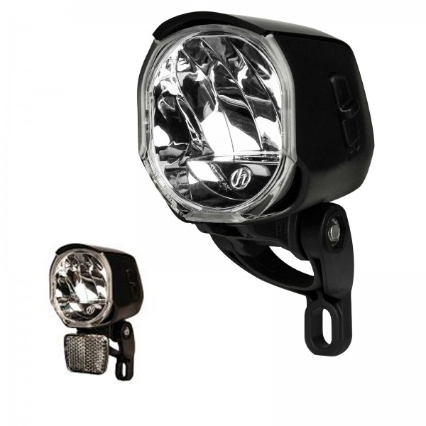 Herrmans LED Scheinwerfer 40-Lux H-Flow Schalter schwarz