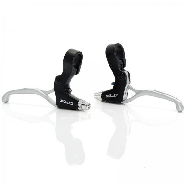XLC V-Brake Bremshebel Set links/rechts Rapidfire BL-V01 schwarz/silber
