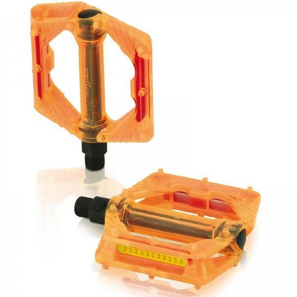 XLC BMX/Freeride-Pedale PD-M16 orange transp.