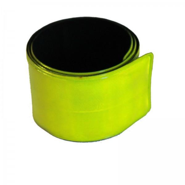 Fasi Reflex-Hosenband Aufrollautomatik gelb