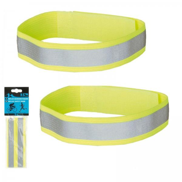M-Wave Reflexbänder m. Klettverschluss (Paar)