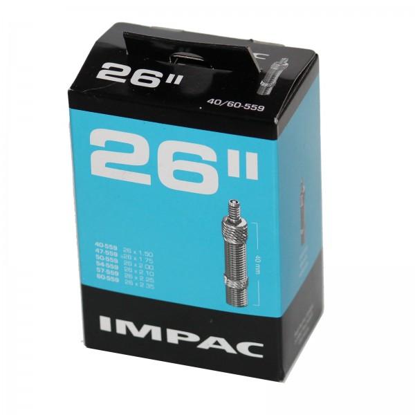 Impac Schlauch 26 Zoll 40/60-559 Blitzventil 40mm