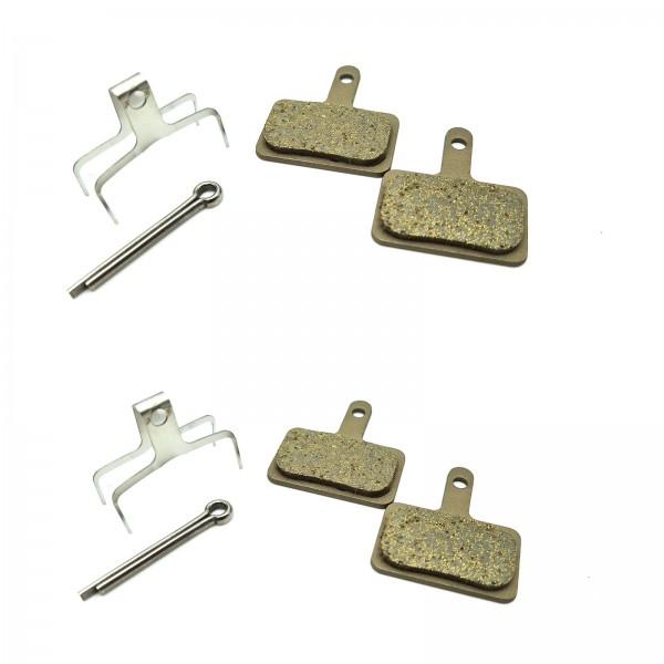 Shimano Bremsbeläge DISC B01S Resin OEM BR-M485/575/495/486/445/615 2 PAAR