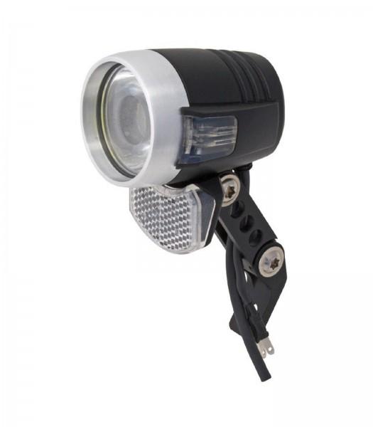 AXA LED-Scheinwerfer Blueline50 Steady Auto m. Schalter, Sensor u. Standlicht