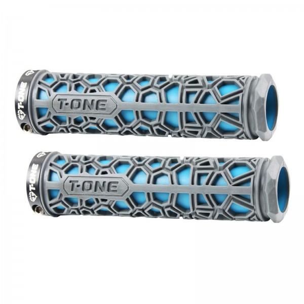 T-One Lenkergriffe H2O blau 1x Schraubensicherung #GP18Blue