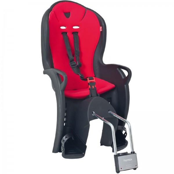 Hamax Kindersitz Kiss schwarz/rot Rahmenrohrbefestigung