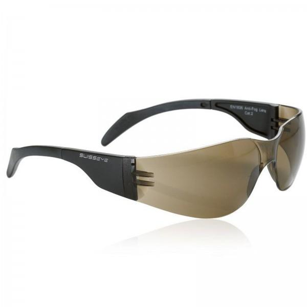 Swisseye Sonnenbrille Outbreak S Rahmen schwarz / Polycarbonatscheiben braun