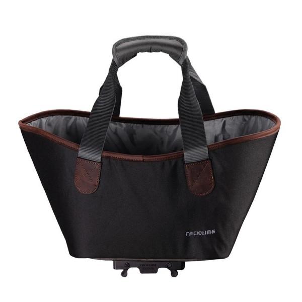 Racktime System-Einkaufstasche Agnetha inkl. Snapit schwarz oder grau
